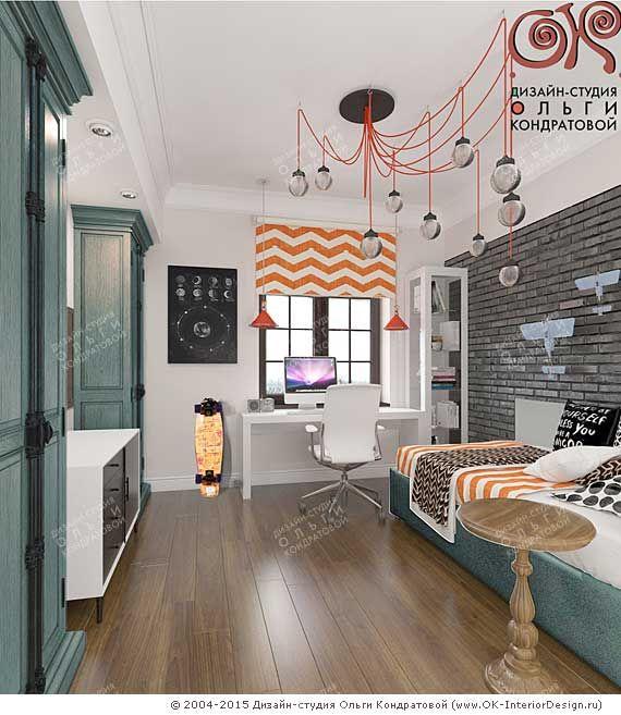 Дизайн детской комнаты для мальчика  http://www.ok-interiordesign.ru/ph_dizain-detskoy-komnaty.php