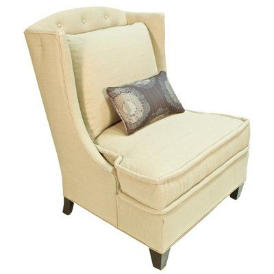 Darby Home Co Barwon Wingback Armchair Color: Montgomery