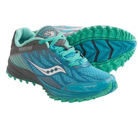 Saucony Peregrine 4 Trail Running Shoes (For Women)
