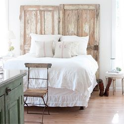 """Want to be a """"Weekend Warrior"""" and give your bedroom an immediate face lift? Check out these easy and unique headboard ideas!"""