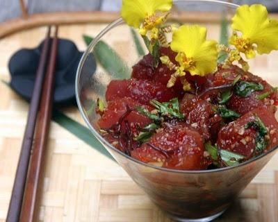 Ahi Limu Poke! My favorite Hawaiian food!