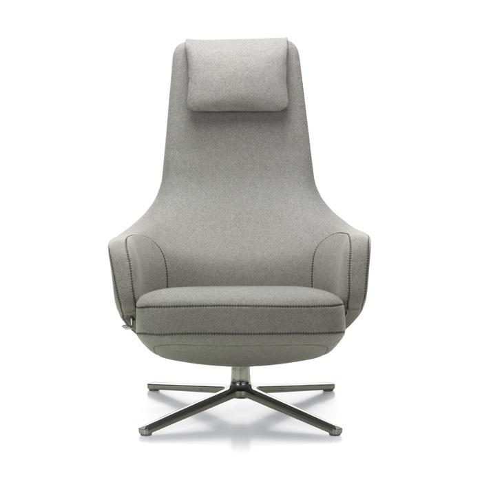 VITRA Repos Lounge Chair & Ottoman