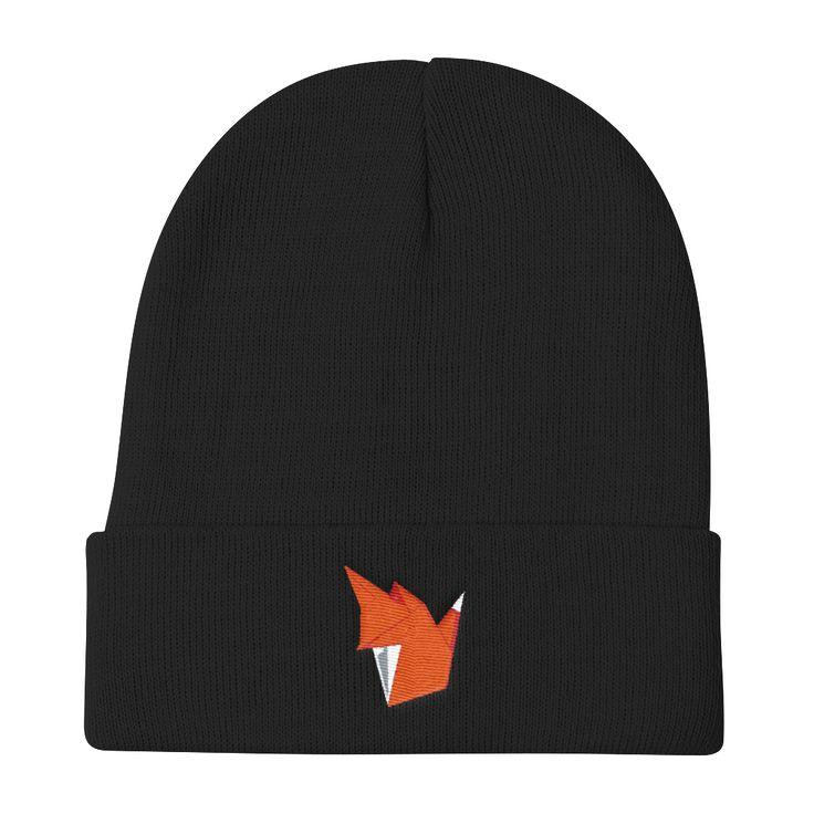 Les Faux Fox Knit Beanie