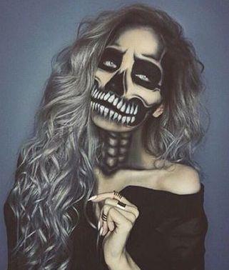 Skelett (Halloween Schminke)