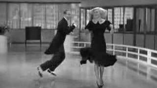 Swing Time - Rogers and Astaire, via YouTube.