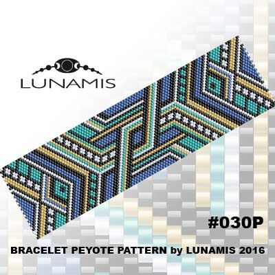 PATTERN ONLY. Create this beautiful peyote cuff bracelet.  Miyuki Delica Beads size 11/0 Odd count with 5 bead colors. 34 bead columns by 91 bead rows. Width: 1.8 (4,6 cm) Length: 6.3 (16 cm)   Patterns include: - Large colored numbered graph paper (and non-numbered in another files) - Bead legend (numbers and names of Delica beads colors ) - Word chart - Pattern preview  This pattern is intended for users that have experience with even count peyote and the pattern itself does NOT include…