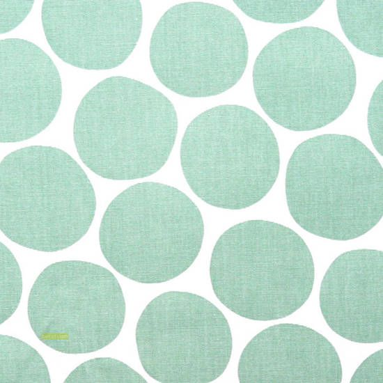 Latest Designer Fabric 'Pompom in light blue' by Spira. Buy online or visti our fabric retail store in Christchurch.