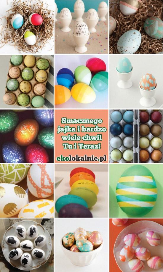 Smacznego jajka oraz Wesołych Świąt Wielkiej Nocy. Jak najwięcej chwil Tu i Teraz z http://ekolokalnie.pl