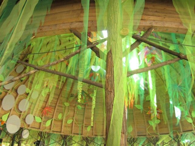 'Ozora festival'  Ceiling of the progressive trance and chill out/ambient dome.