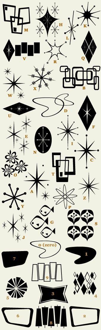 '50s ornaments
