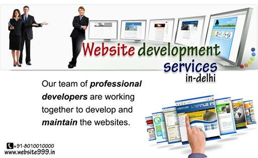 #Website_999, is an expert and professional Web Development services provider in Delhi NCR, who delivers an end to end web development services within your budget. We deliver high quality web solutions for you website #development services, that fits your business need and #successfully drive traffic, which is leading to more customer response. http://website999.in/website-development-services-in-delhi-ncr.html