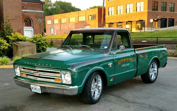 Adam Anderson's !967 Chevy C10 Clear Coat Patina Truck