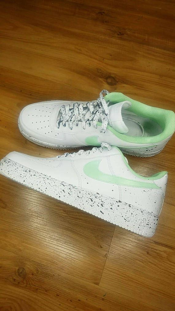 best website 46b5f 4cb95 Custom painted air forces. Made with high quality Angelus brand paint and  heat set for quality and durability