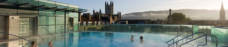 Rooftop Pool at Bath Spa - could be a good place to begin our girly Christmas weekend break!