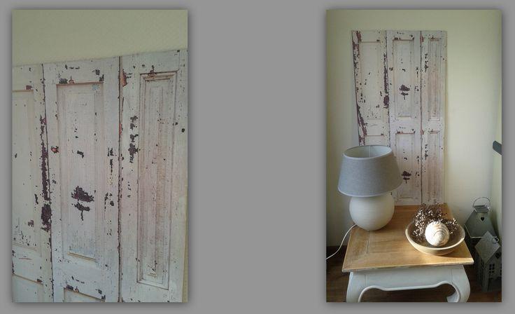 25 beste idee n over oude luiken inrichting op pinterest for Hanneke koop interieur
