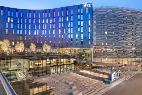 Aloft London excel by Jestico + Whiles