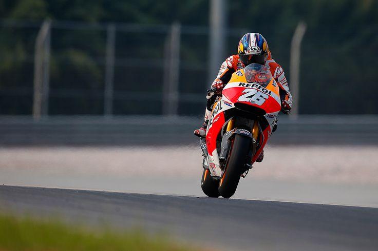 MotoGP 2014: Pedrosa moves ahead as track conditions improve