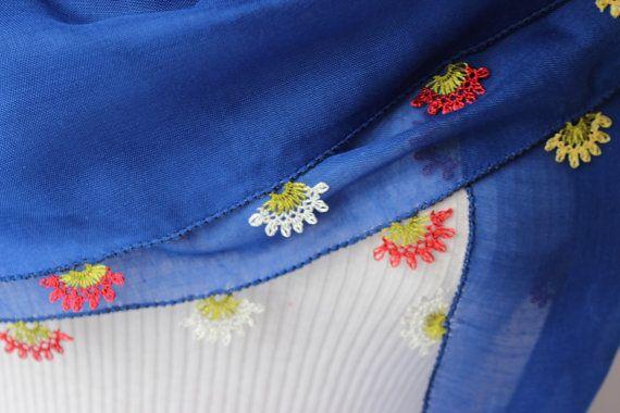 TURKISH OYA SCARF needle lace scarf  oya scarfturkish by SenasShop, $15.00