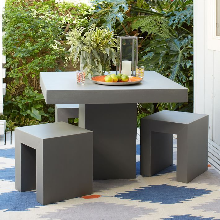 who makes west elm furniture. quarry square dining collection concretestyle fiberstone by west elm who makes furniture