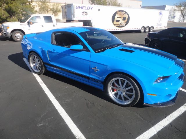 2014 Mustang GT500 Super Snake Is The First Car Off The New Shelby American Assembly Line