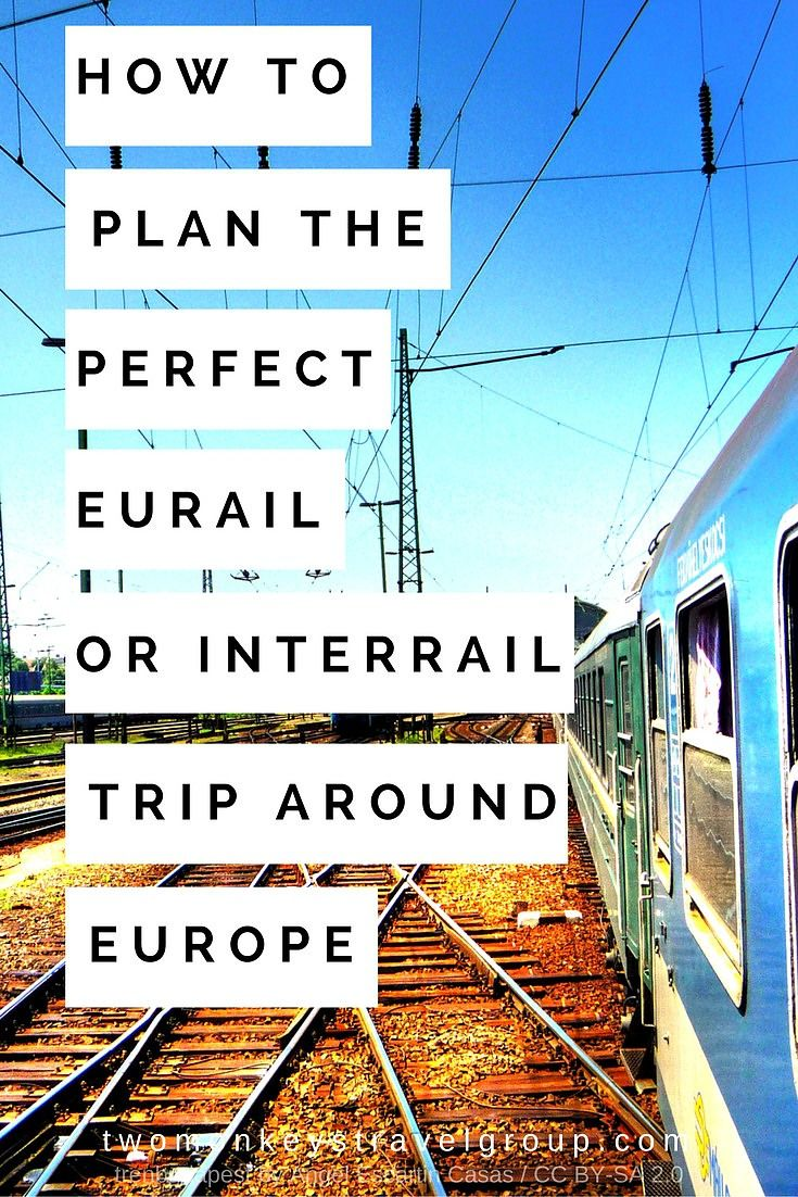 How to Plan the Perfect Eurail or Interrail Trip Around Europe