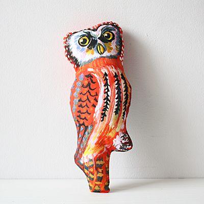 ナタリー・レテの可愛さは不思議な魅力がある。 フクロウは焼く30センチ、大きめなのもいい。\1980