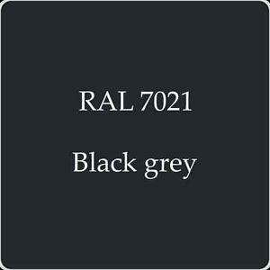 RAL 7021 Black Grey