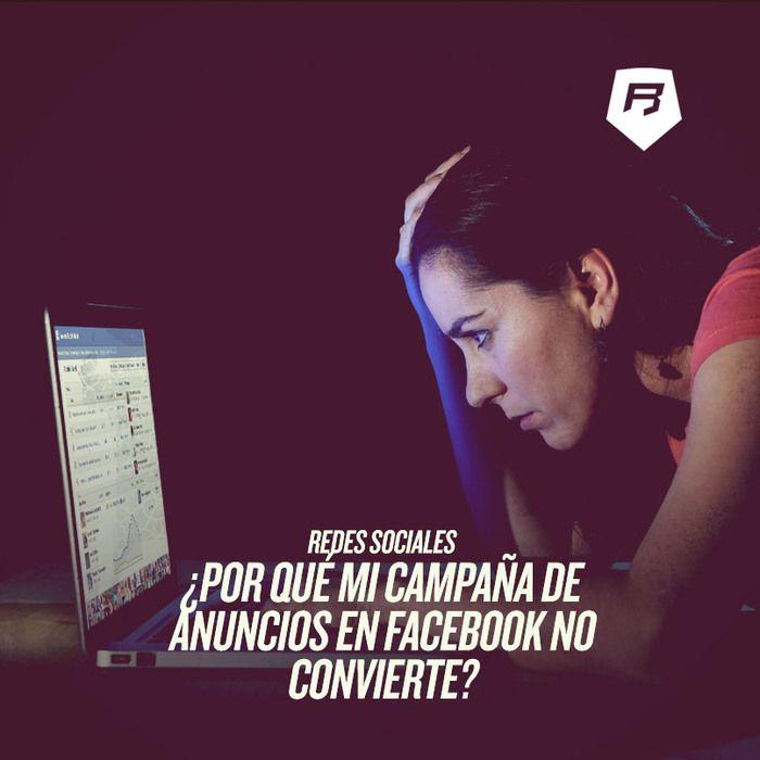 #socialmedia ¿Por qué mi campaña de anuncios en #Facebook no convierte? Aquí la respuesta ➠ http://socialmedia-rebeldesonline.com/errores-en-facebook-marketing/