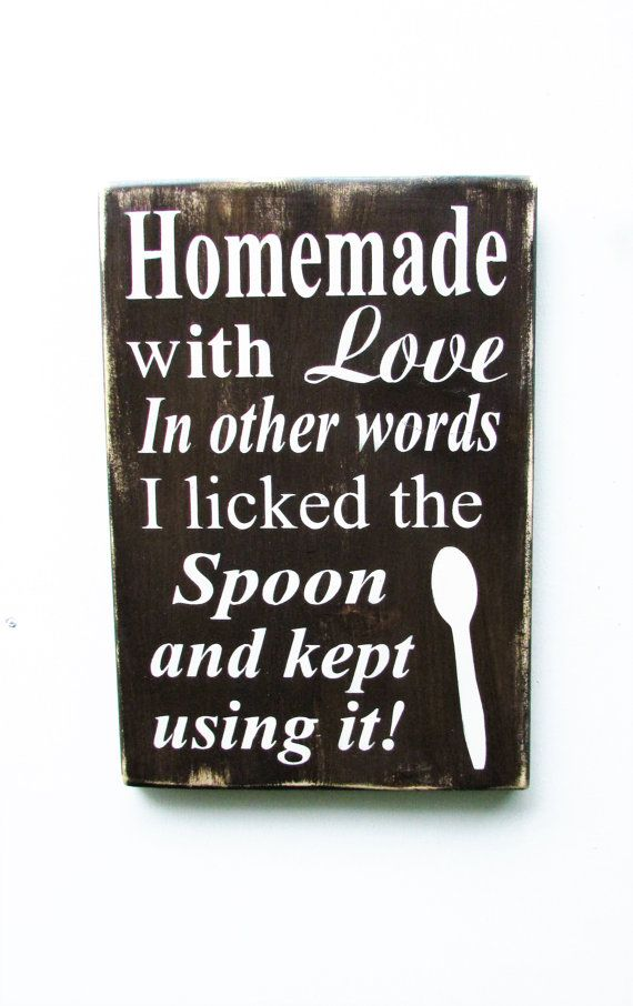 Kitchen Sign Hand Painted Wood Sign Kitchen Decor Funny Kitchen Sign Primitive Home Decor Wood Sign Home Decor Rustic Home Decor