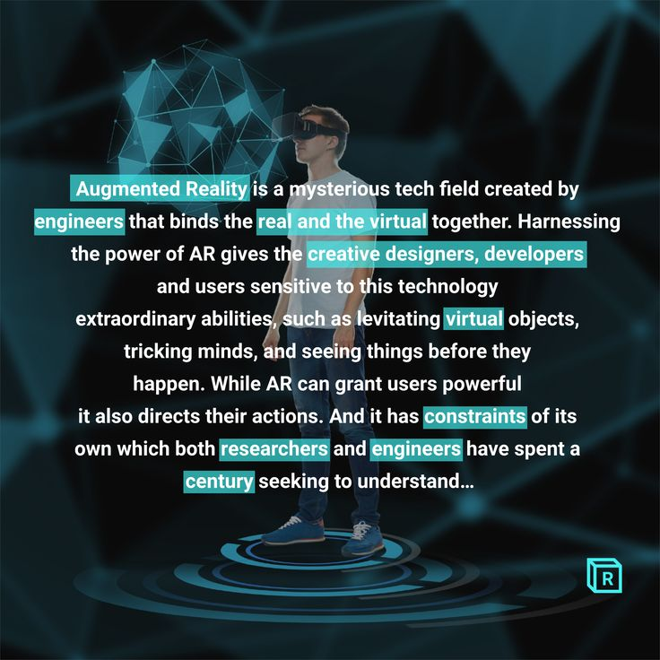 Define Augmented Reality in 2020 | Augmented reality, Content creation social media, Reality