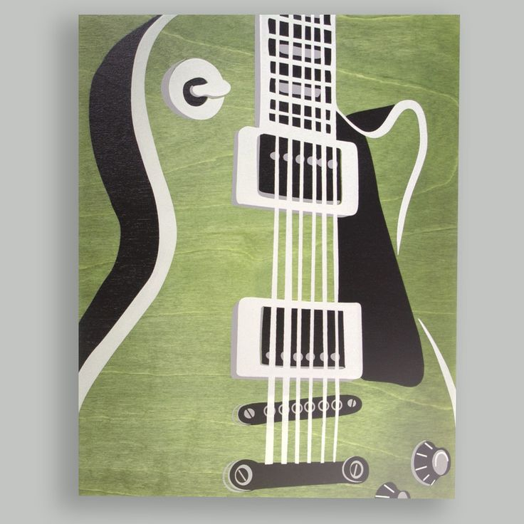 Guitar Painting. Seems easy :)