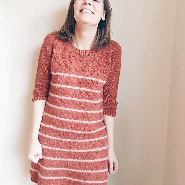 Modification Monday: Miss Winter Sailor Dress | knittedbliss.com
