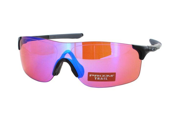 Oakley Evzero Pitch OO9383 04 Sonnenbrille in polished black | Manche Sonnenbrillen schützen Ihre Augen, andere schützen Ihr Image. Oakley-Sonnenbrillen schützen Beides. Ein Stil für jeden Geschmack, mit der Technologie für jeden Bedarf. Sonnenbrillen für jede Situation.Gönnen Sie sich eine...