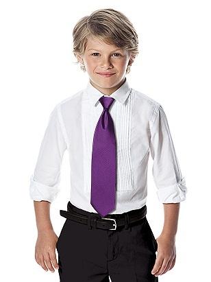 After Six Boy's Slider Tie (African Violet)