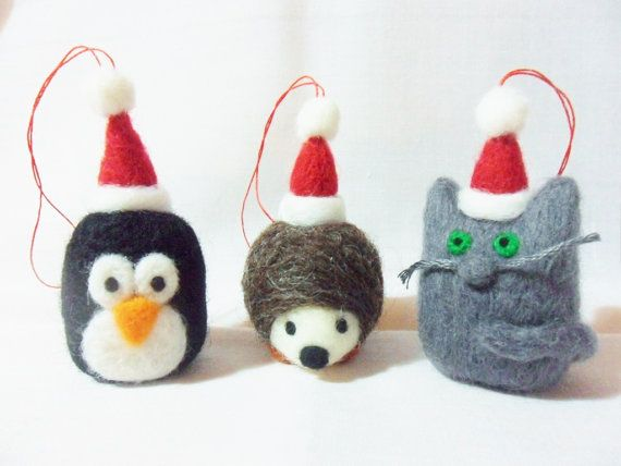 210 best Felted Christmas images on Pinterest | Christmas crafts ...
