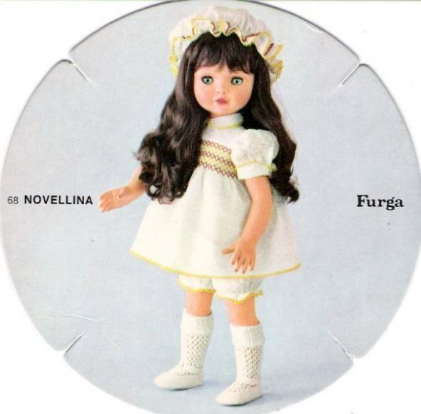 Novellina furga catalogo dolly do 1970