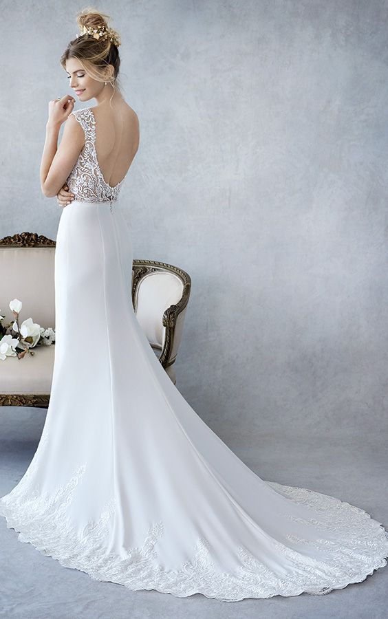 17 best wedding dresses with amazing backs! images on Pinterest ...
