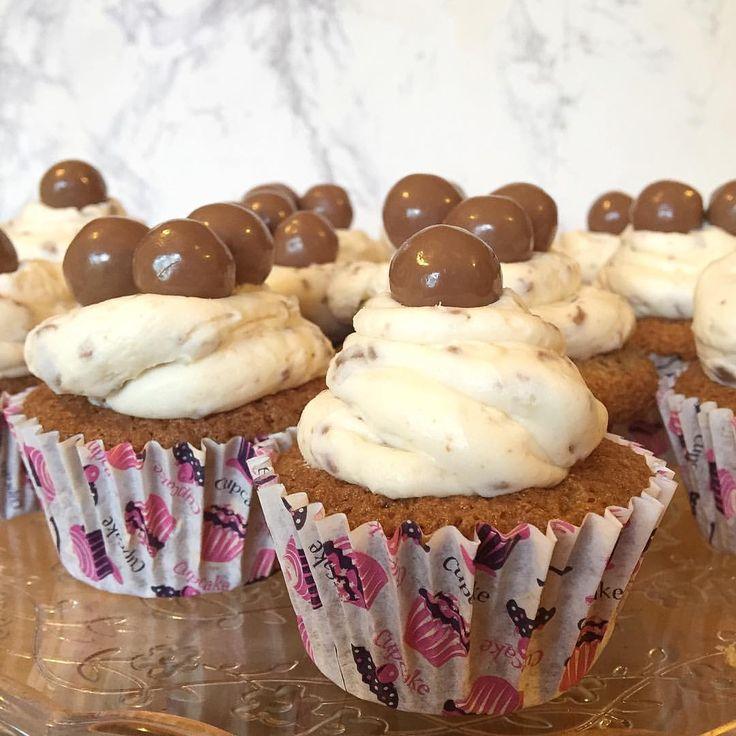 Maltesers cupcake anyone?   #cupcake #baking #foodie #foodporn #ukblogger #blogger #maltesers #yummy #love #buttercream