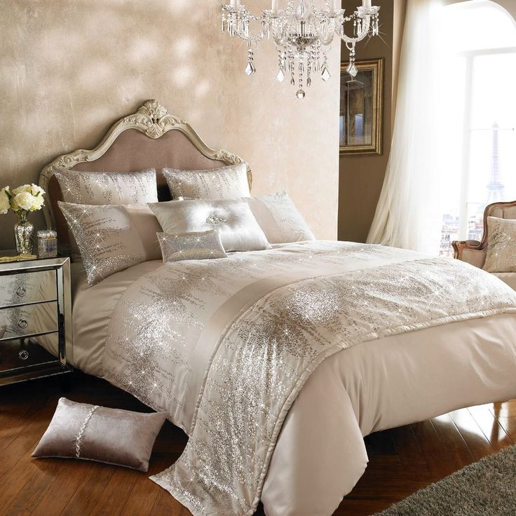 Bedding And Linens Part - 45: Kylie Minogue Bedding JESSA BLUSH U0026 ROSE GOLD Duvet Cover, Cushion Or Throw