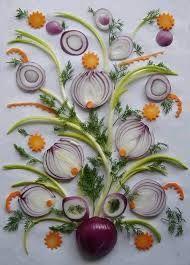 Resultado de imagem para decoração de alimentos