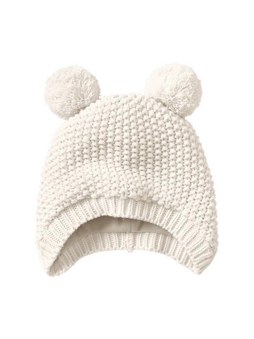 Bonnet ours bébé.