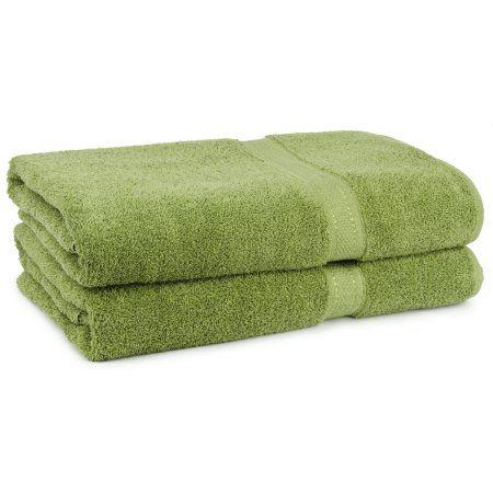 Cambridge Grand Egyptian Egyptian Cotton Towel Set (6 Pieces), Green