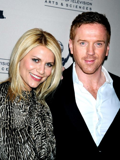 Homeland Carrie and Brody Claire Danes Damien Lewis