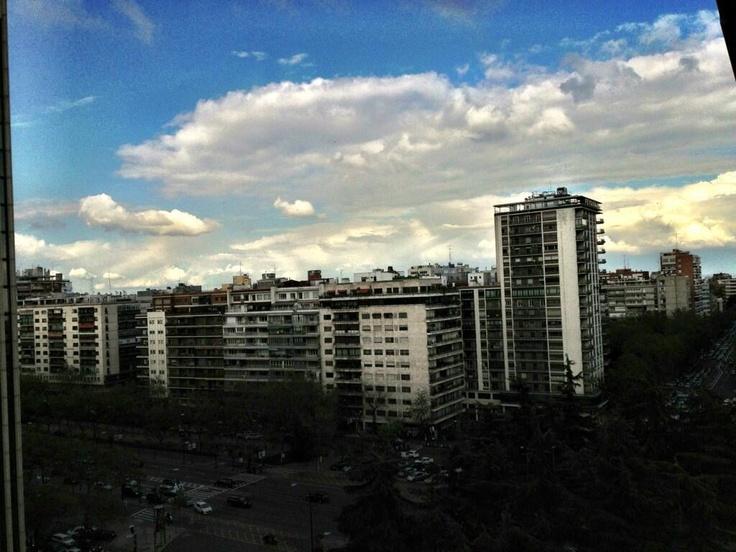 So ist das Wetter aktuell in Madrid: rmabvb bvb