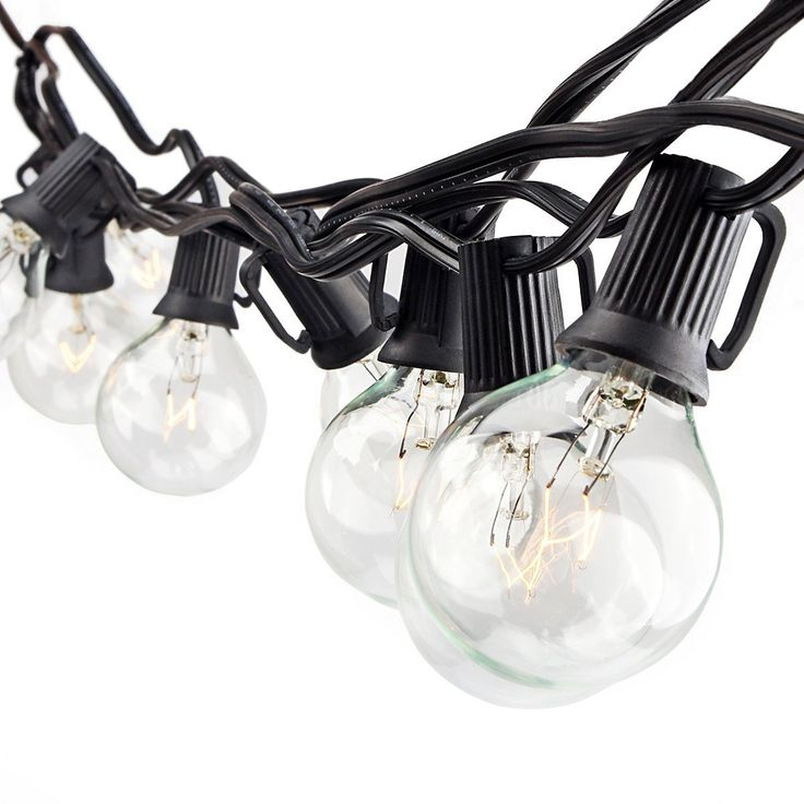 Zitrades Patio Lights G40 Globe Party String Lights Decorative Indoor Outdoor Lighting for Garden Patio Backyard Bedroom RV Dancing Christmas Party Warm White 25 Clear Vintage Style Ball Bulbs 25ft >>> Insider's special review you can't miss. Read more  : Christmas decor
