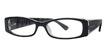 MICHAEL KORS Eyeglasses MK612 027 Black/Crystal 53MM Michael Kors. $93.98