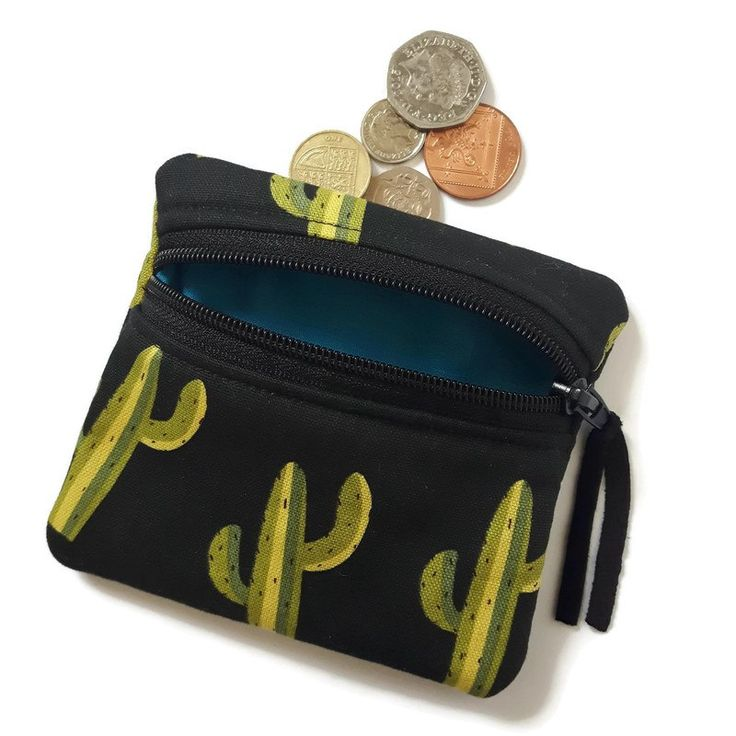 Buy Cactus coin purse. Handmade by creative people crafting through DISABILITIES, CHRONIC ILLNESS or are CARERS