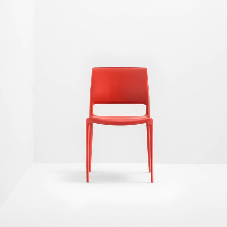 Ara, Timeless seduction design Jorge Pensi Design Studio _ Ara is a polypropylene moulded #chair reinforced with glass fibres, stackable and suitable for both indoors and #outdoors. #Christmas