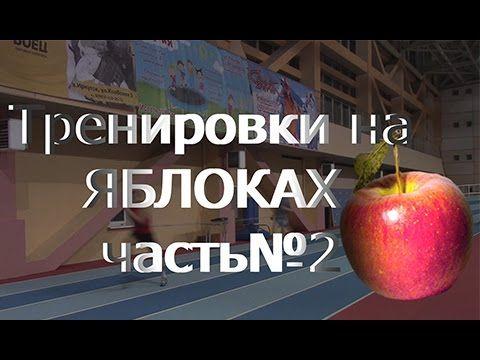 Тренировки на ЯБЛОКАХ №2.  Тренировка по бегу.10. 01. 2016