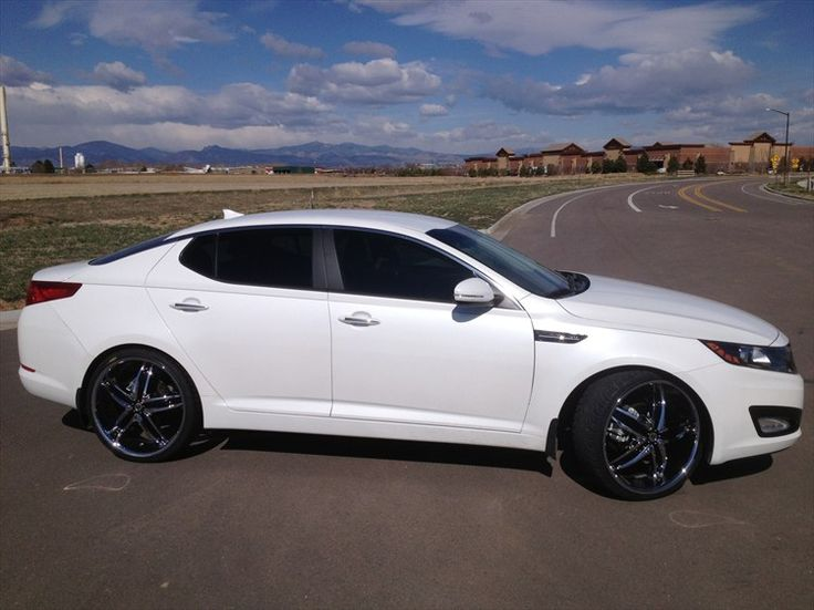 white kia optima with black rims | Abstract101 2013 Kia Optima 16178174